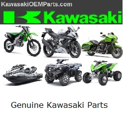 kawasaki  OEM Parts Shipped Free in the U.S. with $50 order